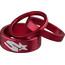 Spank Headset Spacer Kit 3 Stück red